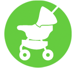 On the go: Strollers